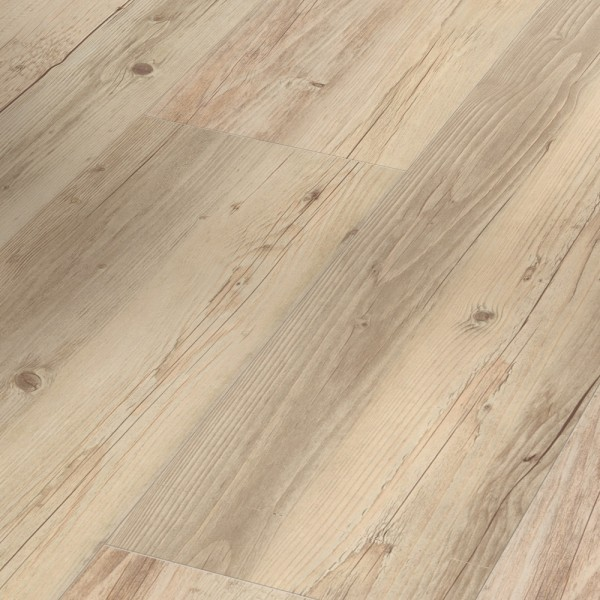 PARADOR Vinylboden Pinie weiß geölt Landhausdiele Sägeraue Struktur   Basic 30