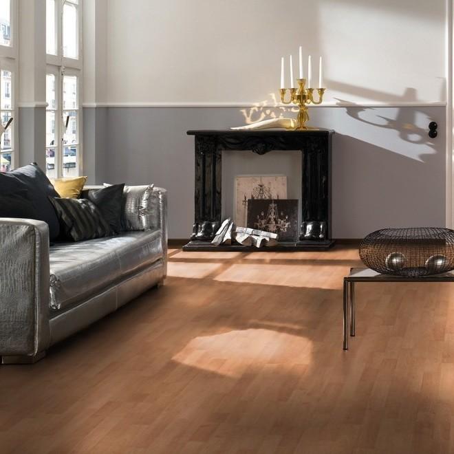 TER HÜRNE Laminat Kirschbaum move Schiffsboden 3-Stab | Domo | 47 m²