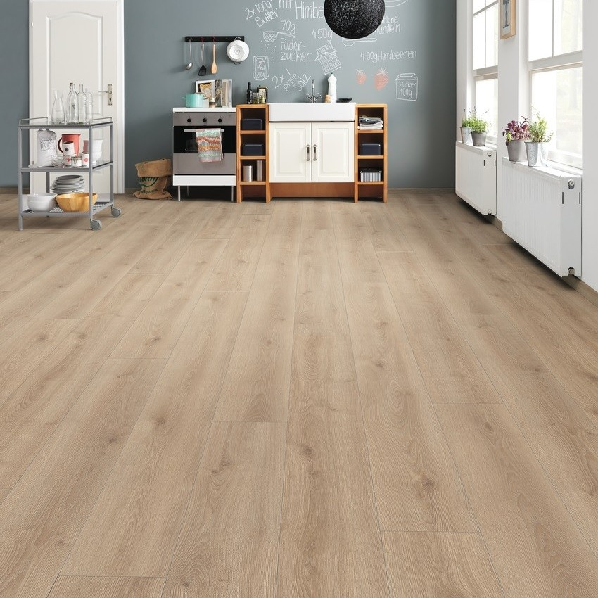 laminat eiche contura sand landhausdiele haro tritty 100. Black Bedroom Furniture Sets. Home Design Ideas