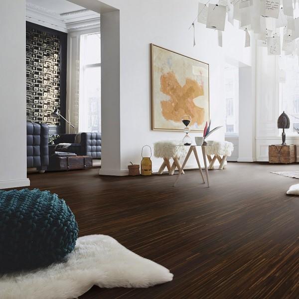 PARADOR Parkett Räuchereiche Fineline Schiffsboden 3-Stab lackversiegelt | 20 m²