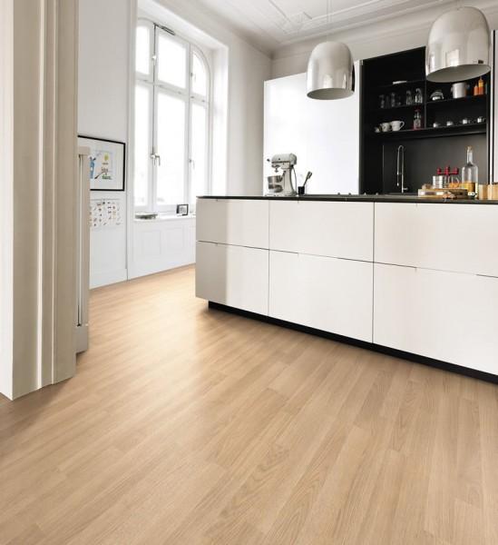 Laminat Eiche premium creme Schiffsboden 3-Stab | HARO Tritty 100
