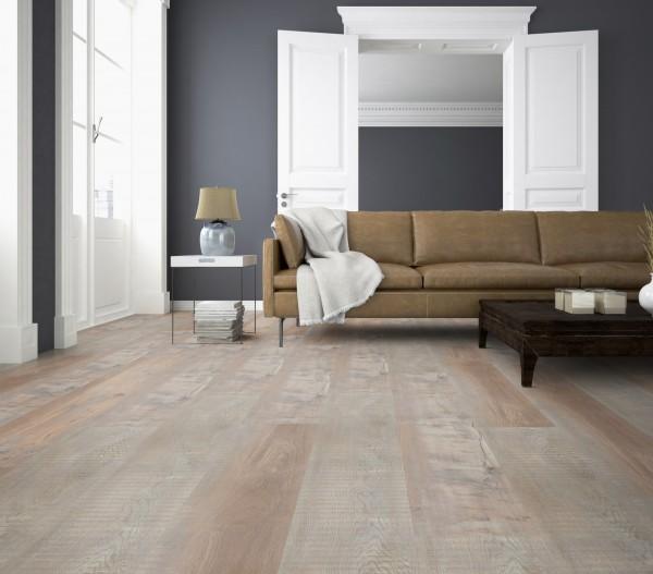 TER HÜRNE Design-Vinylboden Pinie Valencia beigebraun Landhausdiele G01 | Bright Choice Comfort