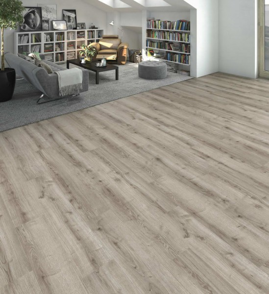 HARO Designboden Eiche Ontario grau Landhausdiele 4V | DISANO WaveAqua | 2. Wahl | 19,5 m²