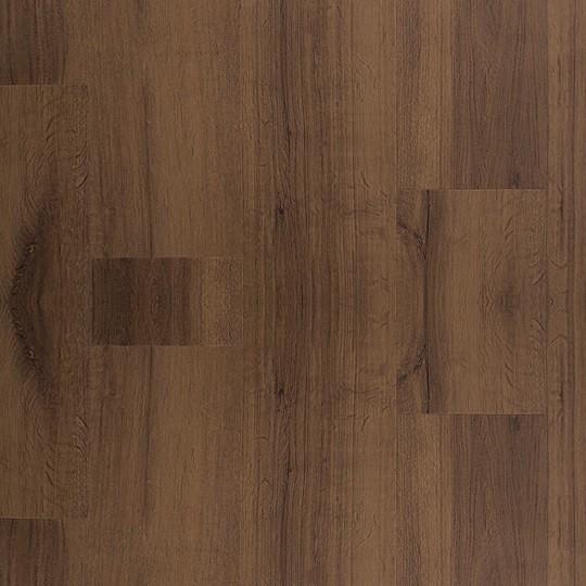 ALLURE LOCKING Vinylboden Markham Oak Dark Struktur Landhausdiele mit V-Fuge | 27 m².