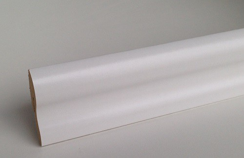Classic Sockelleiste SL 40 Weiss 22 x 40 x 2380 mm