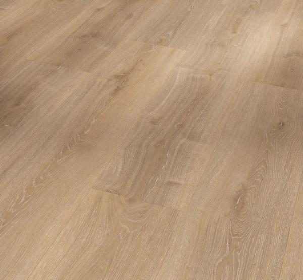 PARADOR Vinylboden Eiche Royal hell gekälkt Landhausdiele 4-seitige Fase   Basic 5.3
