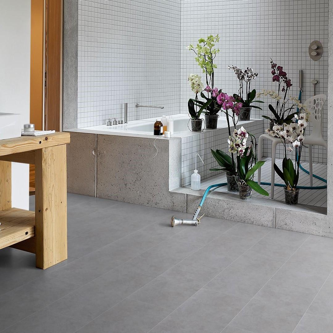 vinyl beton grau steinstruktur basic 4 3 eiche vinyl bodenverkauf. Black Bedroom Furniture Sets. Home Design Ideas