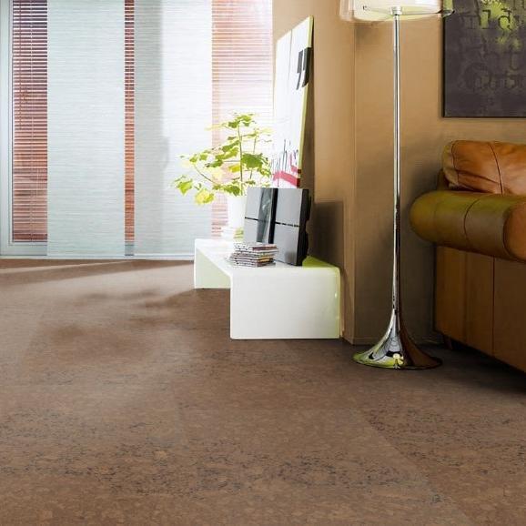 kork corkett sagres maron permadur mit sockelleisten. Black Bedroom Furniture Sets. Home Design Ideas