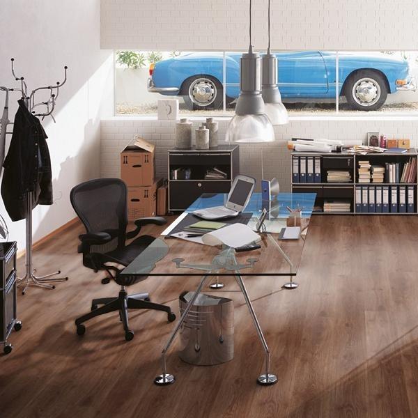 KRONOSPAN Laminat Eiche Montreal Landhausdiele mit V-Fuge | Euro Home | 18 m²