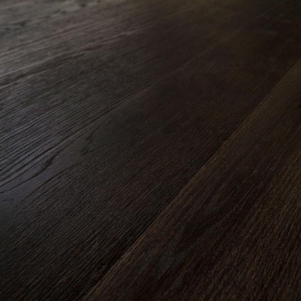 Parkett Eiche Espresso Landhausdiele lackversiegelt | 24 m²
