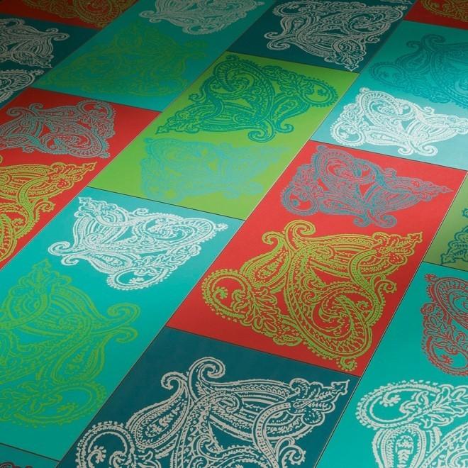 Laminat Paisley Turky-Green | 250 Format Design | 22 m²
