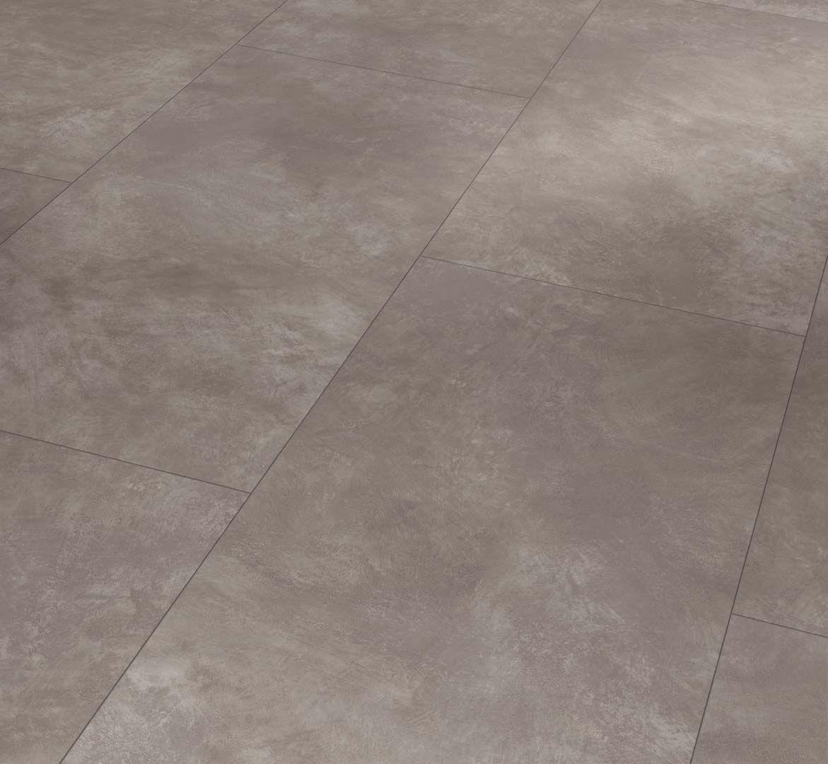 PARADOR Vinylboden Beton dunkelgrau Steinstruktur 4-seitige Fase | Modular ONE