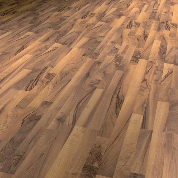 laminat nussbaum montreal schiffsboden 3 stab paketangebot. Black Bedroom Furniture Sets. Home Design Ideas