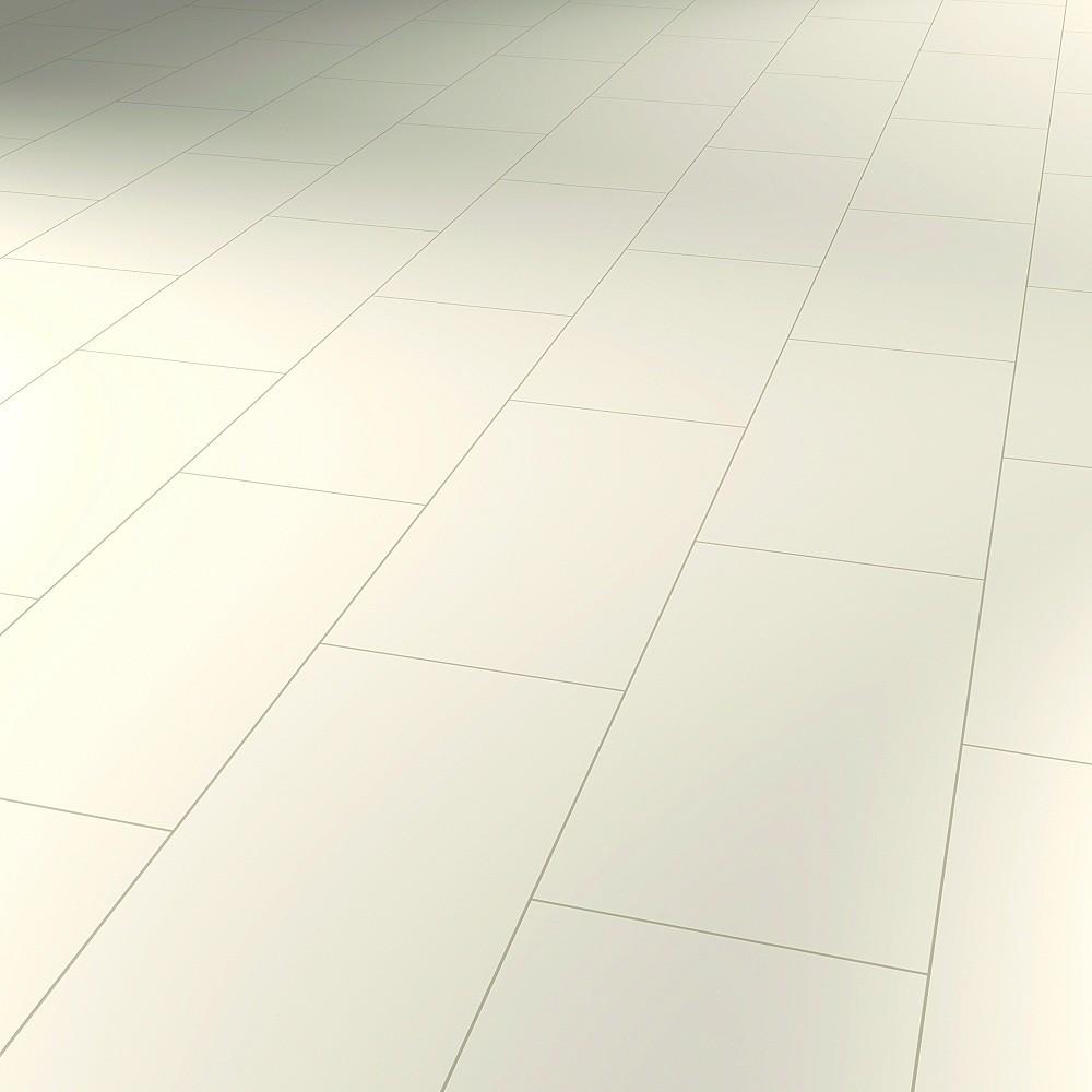 Laminat Farbdesign Satinweiß hochglänzend | Avatara Floor | 22 m²