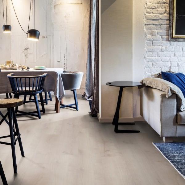TER HÜRNE Design-Vinylboden Eiche Borkum beige Landhausdiele F04 | Pure Choice Comfort