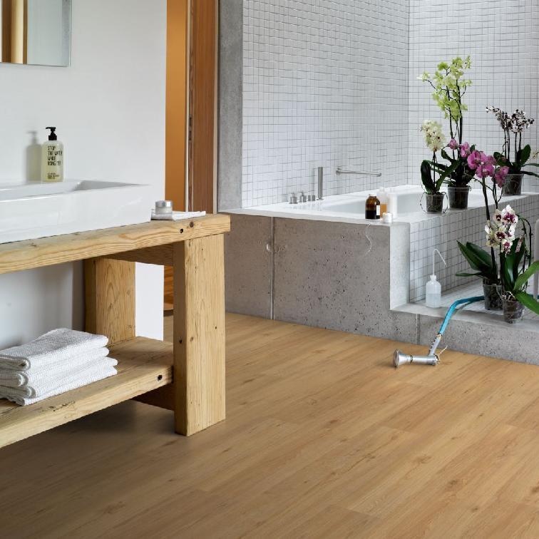 vinyl eiche natur landhausdiele geb rstete struktur. Black Bedroom Furniture Sets. Home Design Ideas