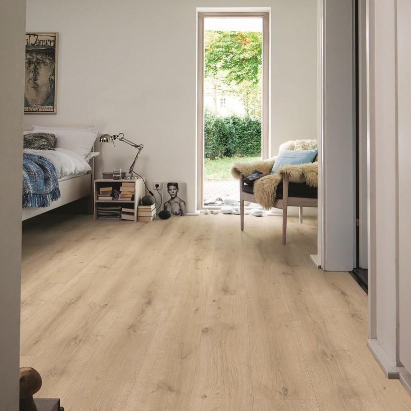 HARO Laminat Eiche Breda puro strukturiert matt Landhausdiele | Daily Edition | 2. Wahl | 26 m²