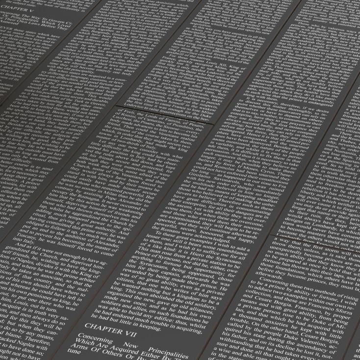 PARADOR Laminat Letters Black | Trendtime 2 | 11 m²