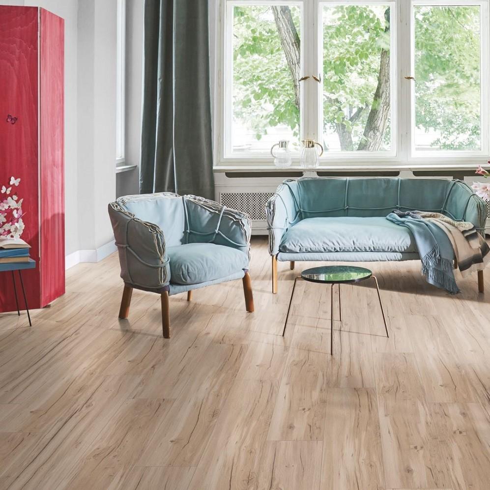 PARADOR Vinylboden Eiche geschliffen Landhausdiele Gebürstete Struktur | Click In | 30 m²