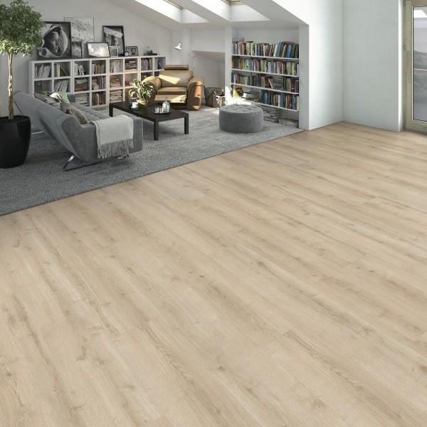 HARO Designboden Eiche Ontario weiß Landhausdiele 4V | DISANO WaveAqua