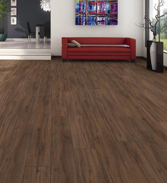 HARO Designboden Räuchereiche strukturiert Landhausdiele 4V | DISANO Sonderedition | 2. Wahl | 27 m²
