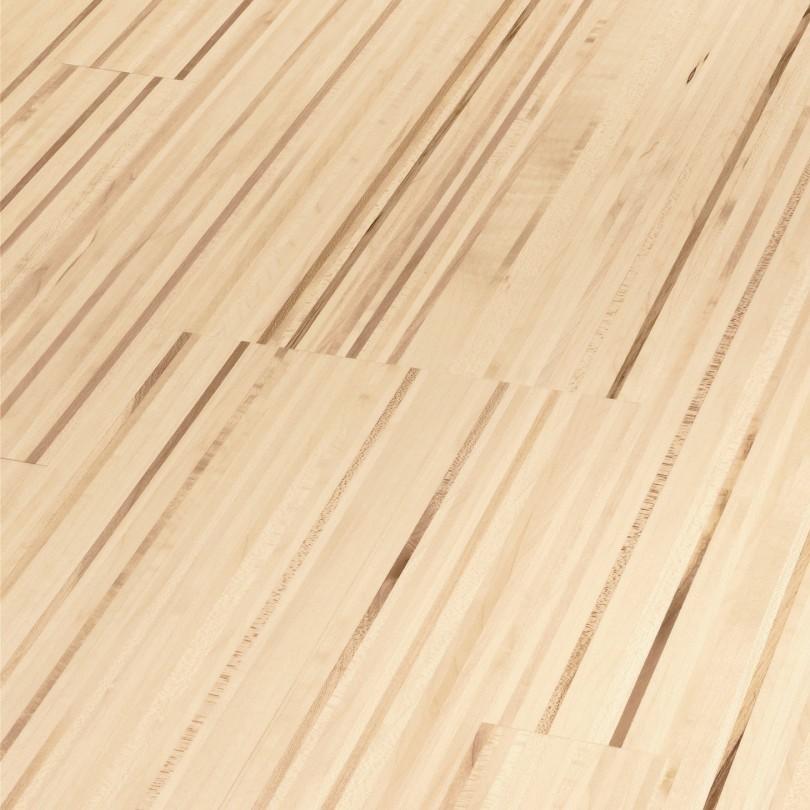 PARADOR Parkett Ahorn Fineline Schiffsboden 3-Stab lackversiegelt matt | 18 m²
