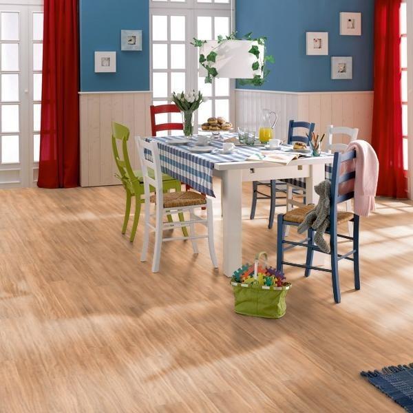 TER HÜRNE Laminat Olive lobby Landhausdiele 4-seitige V-Fuge | Showroom | 34 m²