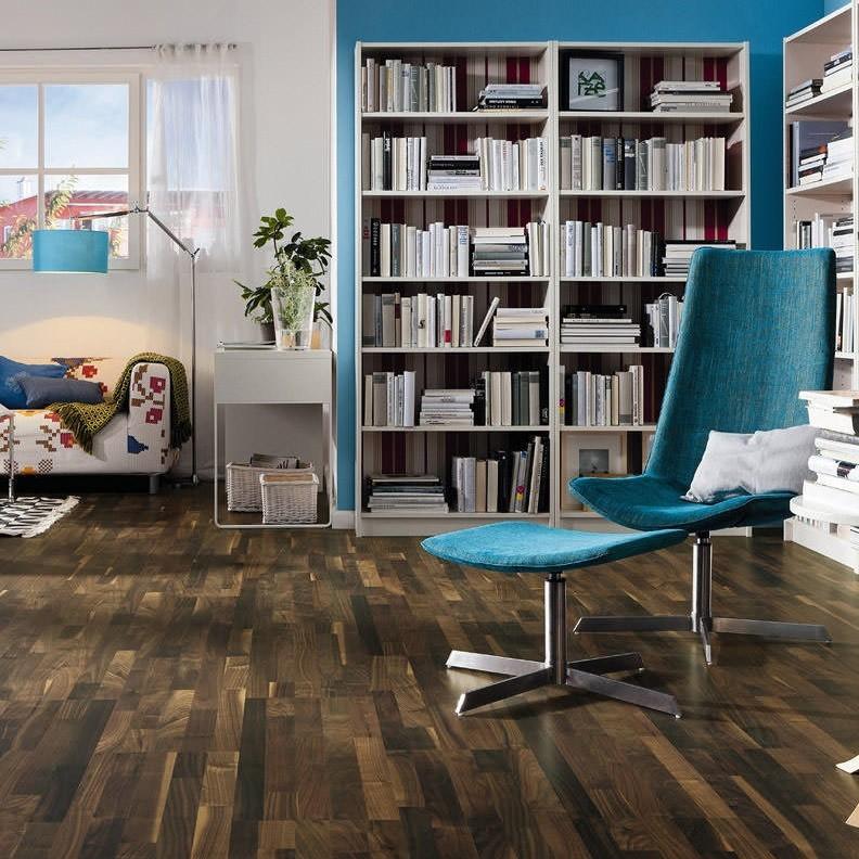 HARO Korkboden Arteo Nussbaum Permadur | Corkett | 21 m²