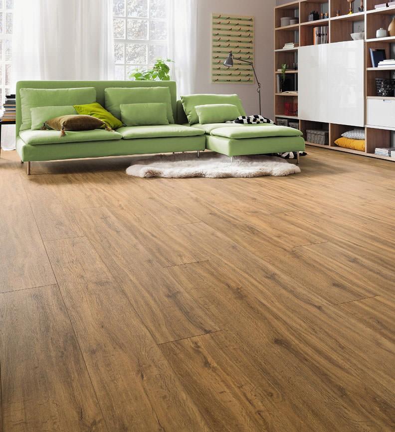 HARO Designboden Bergeiche Landhausdiele XL | DISANO Classic Aqua | 2. Wahl | 11,5 m²