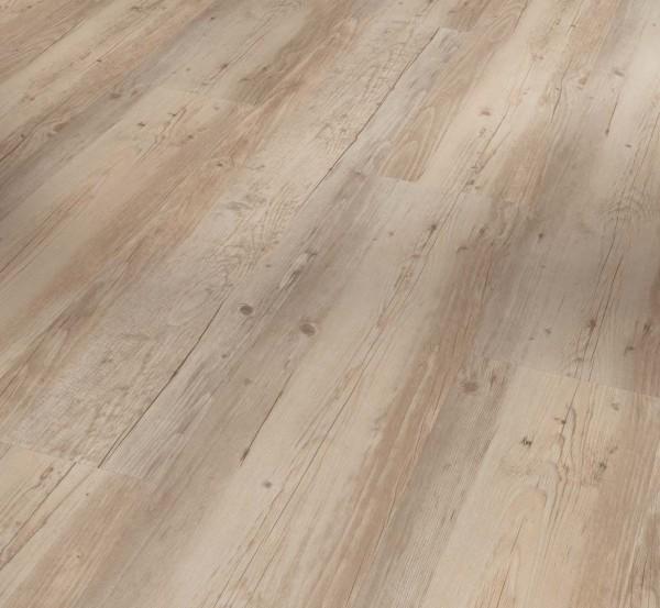 PARADOR Vinylboden Pinie weiß geölt Landhausdiele Sägeraue Struktur   Basic 2.0