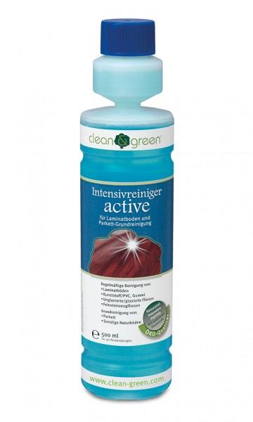 CLEAN & GREEN Intensivreiniger active für Laminat-, Vinyl- und Designböden 500 ml