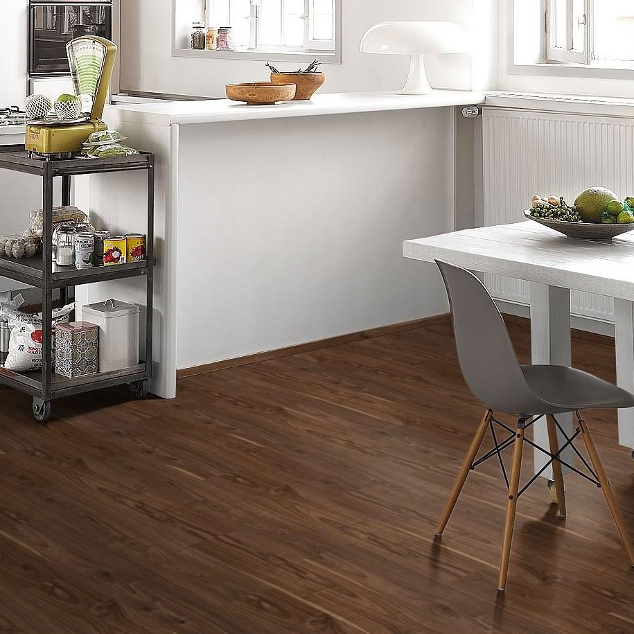 SCHÖNER WOHNEN Laminat Walnuss natur Landhausdiele Holzstruktur | Style Collection | 11 m²