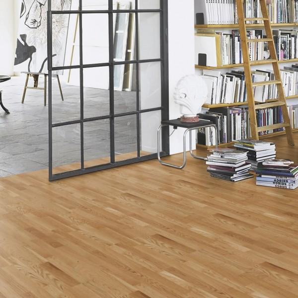 PARADOR Parkett Eiche Schiffsboden 3-Stab lackversiegelt matt Objektsortierung | Basic 11-5 | 28 m²