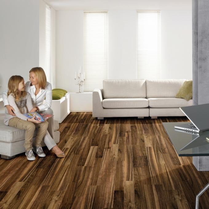 laminat felsen walnuss schiffsboden sch ner wohnen. Black Bedroom Furniture Sets. Home Design Ideas