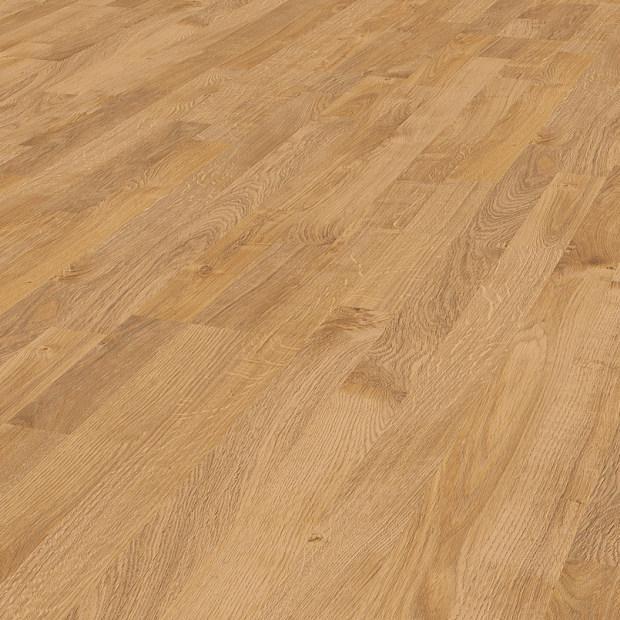 GRÜNDORF Laminat Eiche graubraun motion Schiffsboden 3-Stab | Trendfloor | 17 m²