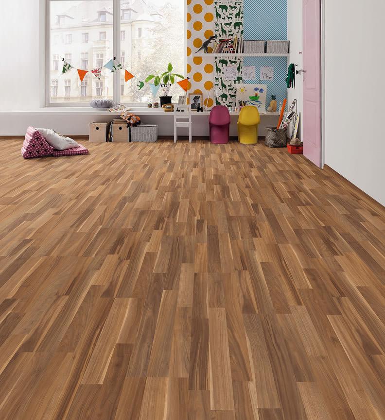 haro laminat nussbaum pore g nstig online auf. Black Bedroom Furniture Sets. Home Design Ideas