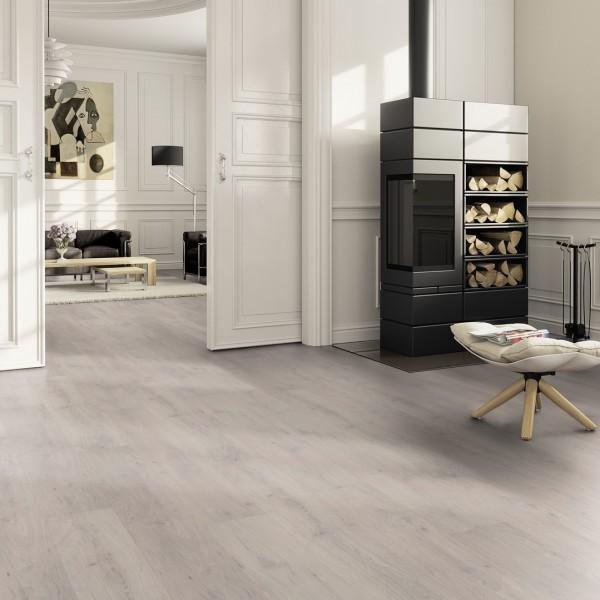 TER HÜRNE Design-Vinylboden Eiche Helsinki weiß Landhausdiele F03 | Pure Choice Comfort