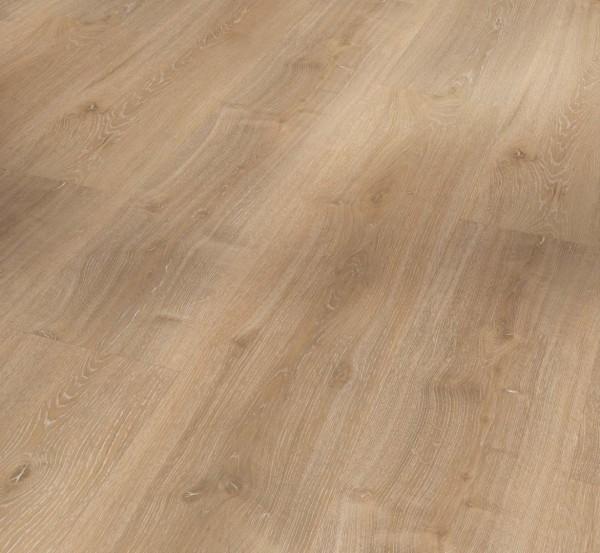 PARADOR Vinylboden Eiche Royal hell gekälkt Landhausdiele Gebürstete Struktur   Basic 2.0