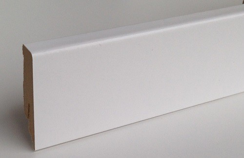 Bauhaus Sockelleiste SL 60 Weiss 18 x 60 x 2600 mm