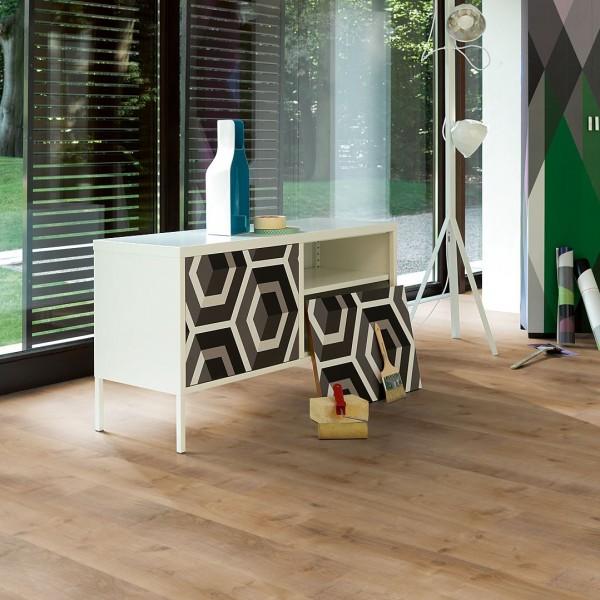 PARADOR Laminat Eiche Monterey leicht geweißt 4-V-Fuge | Classic 1050 | 29 m²