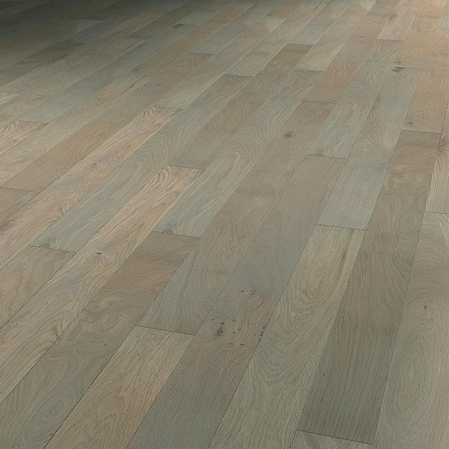 Massivholzdiele Eiche europäisch grau geölt | Clear Selection