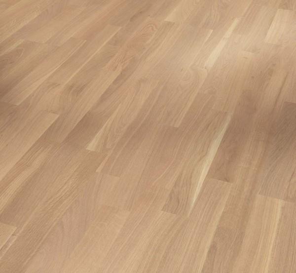 PARADOR Parkett Eiche Living Schiffsboden 3-Stab lackversiegelt matt weiß | Sonderedition