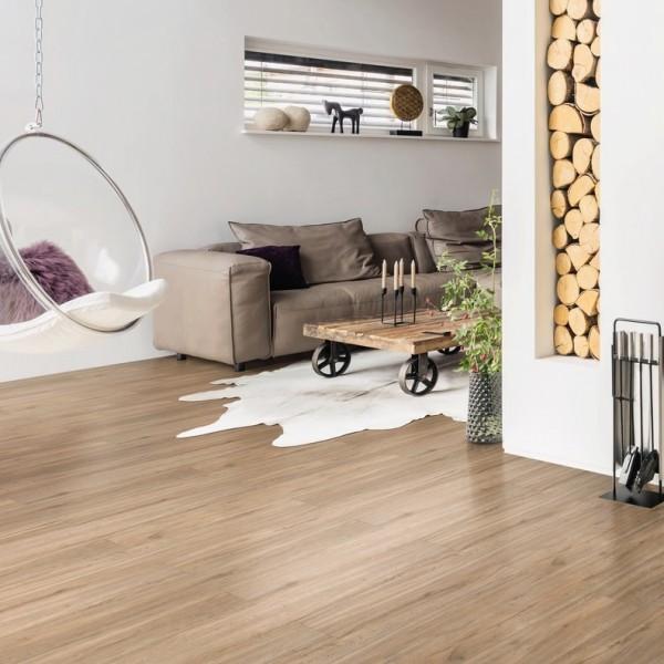 HARO Vinylboden 4V Steineiche creme strukturiert | DISANO Saphir