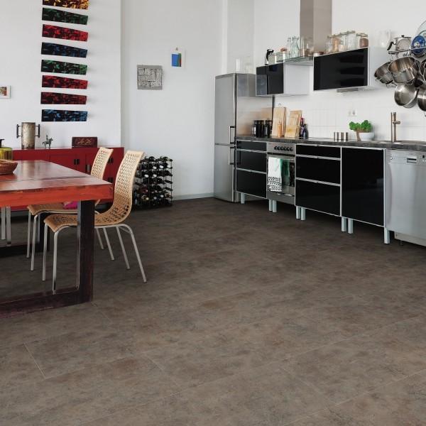 HARO Vinylboden Piazza 4V Rusted metal Steinstruktur | DISANO Classic Aqua