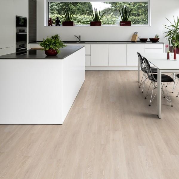 TER HÜRNE Design-Vinylboden Eiche Viborg beige Landhausdiele F02 | Pure Choice Comfort
