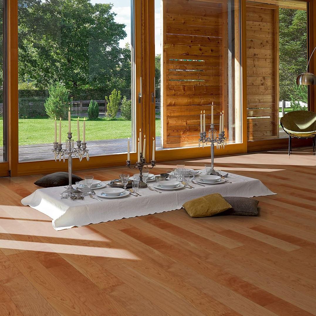 PARADOR Parkett Kirsche europäisch rustikal matt lackiert Landhausdiele | Sonderedition | 27 m²