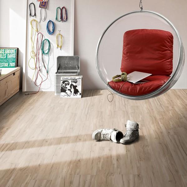 Vinylboden Eiche Memory geseift Landhausdiele Authentische Struktur | PARADOR Classic 2030