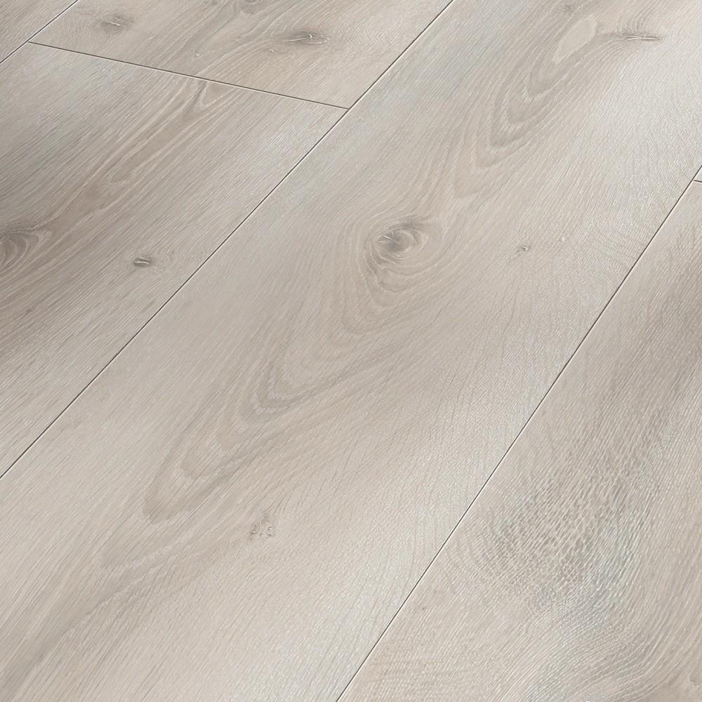 PARADOR Laminat Eiche Askada weiß gekälkt Landhausdiele | Basic 600 XS | 42,5 m²