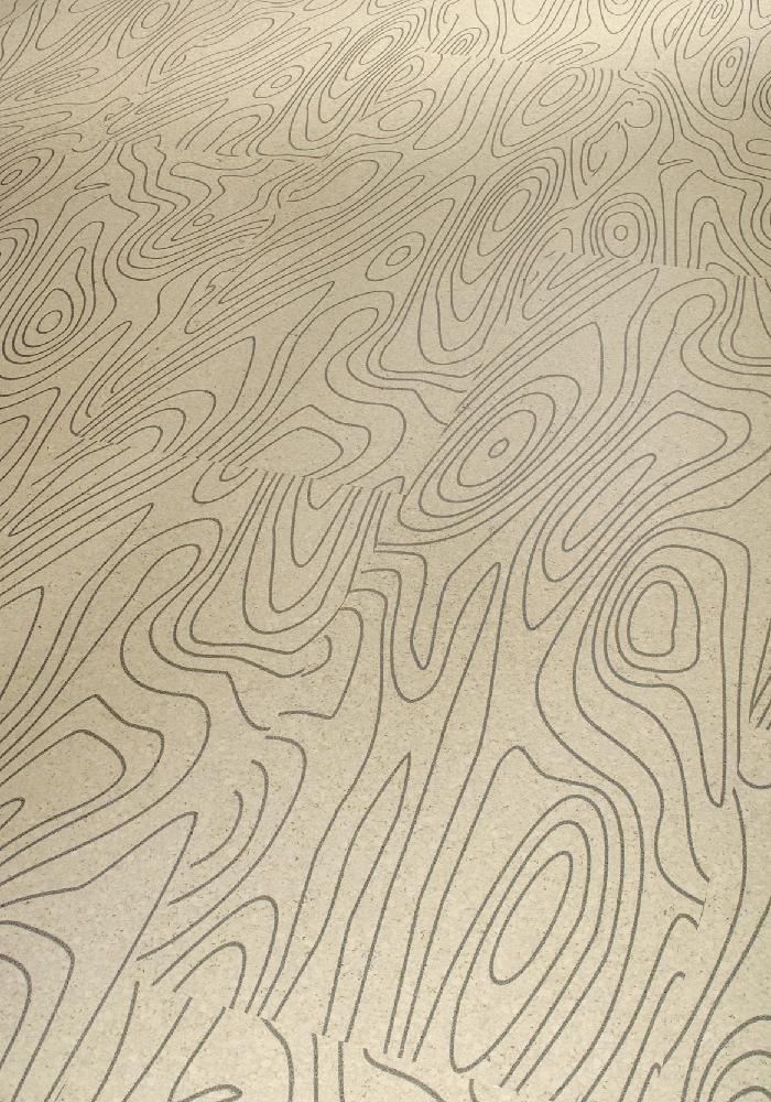 SCHULTE RÄUME Kork Flex schwarz auf weiss lackiert | 20 m²