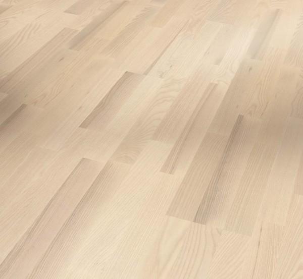 PARADOR Parkett Esche Schiffsboden 3-Stab lackversiegelt weiß | Sonderedition